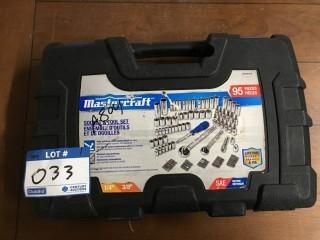 Mastercraft Socket Set w/Case.