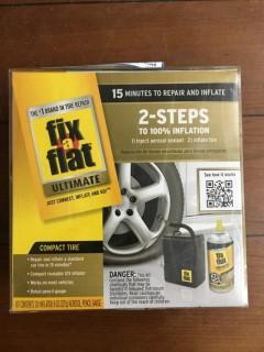 Fix a Flat Kit c/w 12v Air Compressor.