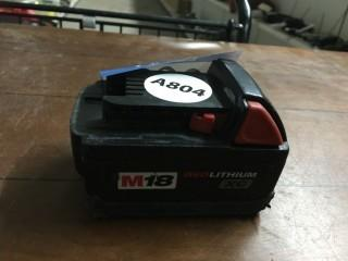 M18 Lithium XC Battery.
