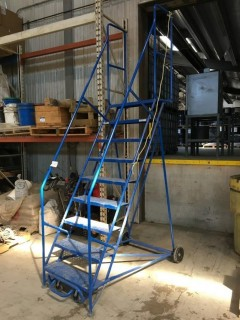 Canway NH Warehouse Ladder (Rated 400 Lbs).