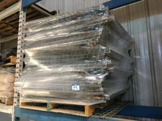 """Pallet of Racking Grate 44"""" x 52""""."""
