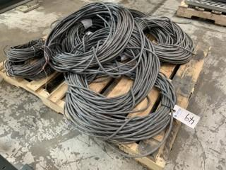 Assorted Multi Conduit Cable.