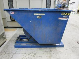 Vestil D-100HD Fork Lift Dump Bucket.