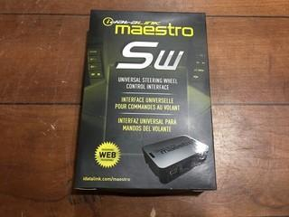 IDataLink Maestro SW Universal Steering Wheel Control Interface.