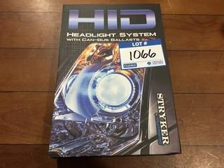 Stryker HID Headlight System With Can-Bus Ballasts, HIDH16-6K.