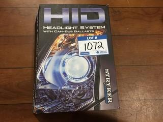 Stryker HID Headlight System With Can-Bus Ballasts, HIDH13-6KFLEX.