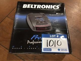 Beltronics Pro 200 Ultimate Radar/Laser/Safety Detector.