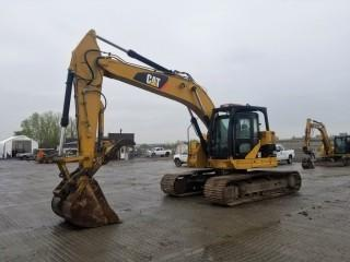 2009 Cat 321D LCR Excavator c/w Thumb, Aux. Hydraulics. Showing 10,623 Hours. S/N CAT0321DLNS00230.