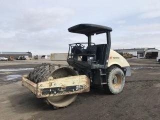 2003 Ingersoll-Rand SD-70D TF Vibratory Padfoot Roller Showing 4,867 Hours. S/N 173339