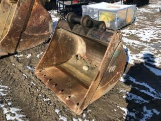 "EFI 40"" Clean Up Bucket To Fit Cat 308 Excavator."