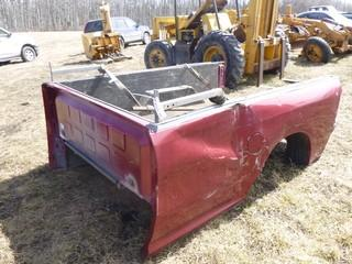2014 8ft Truck Box, Damaged