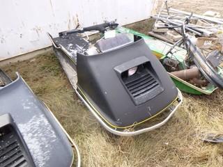 John Deere JDX8 Snowmobile