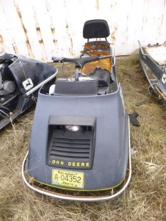 1974 John Deere JDX8C Snowmobile *Note: Parts Only*