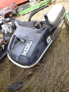 1974 John Deere JDX4D Snowmobile *Note: Parts Only*
