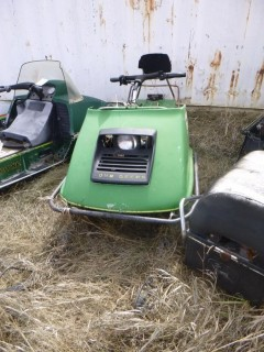 1973 John Deere 6000B Snowmobile *Note: Parts Only*