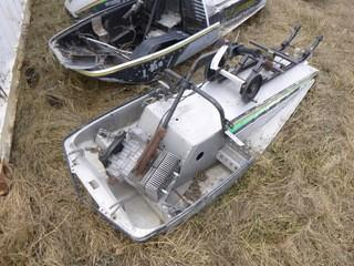 1980 John Deere Spitfire Snowmobile. SN J34A5124549M *Note: Parts Only*