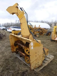 50in Trackless Model B3 Snow Attachment. SN 1756