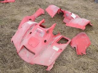 2006 Honda Front, Rear And Side Plastic Housing