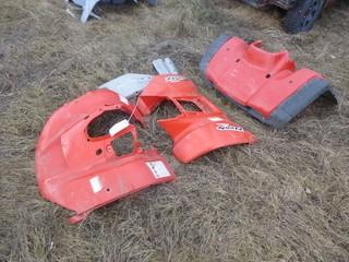 (2) Front And (1) Rear Honda Plastic Housing