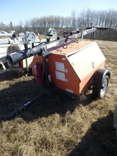 2008 Magnum MLT 50 80MMH Light Plant C/w (1) Light, Pintle Hitch. Showing 4089hrs. S/N 0831933