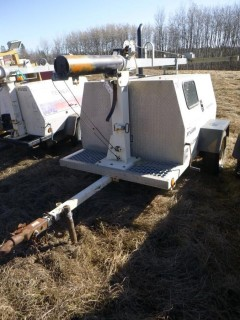 2006 Frontier PT4000K 21/23kw Light Plant/Generator. Showing 34274hrs. VIN 2F9LS11346E080689 *Note: No Lights, No Fuel Tank*