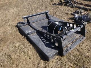 LX52-11 89 3/4in X 75in Skidsteer Brush Mower W/ New Lines