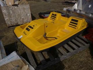 Pelican 92in X61in Paddle Boat