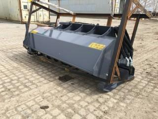 "Unused 72"" Skid Steer Rotary Tiller."