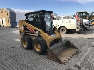 "2014 Cat 226B3 Skid Steer c/w 60"" Digging Bucket, Cab, Heat, Hyd. Showing 2,805 Hours. S/N CAT0226BCMWD06311."
