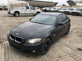 2009 BMW 3-Series 328xi 4 Door Sedan c/w 3.0L, Auto, A/C. Showing 139,254 Kms. S/N WBAPK73589A449326