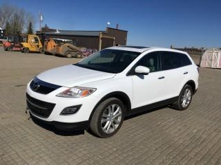 2011 Mazda CX-9 Grand Touring AWD SUV c/w 3.7: V6, Auto, A/C. Showing 103,510 Kms S/N JM3TB3DA4B0321044