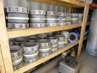 Contents Of Storage Container Includes: (1) Hydrapak Cooling Unit, Flow Fittings, Western Star Fuel Tanks, Qty of Various Pipe & Elbows, Approx 60ft Of Wood Shelving And Misc Supplies *Note: Storage Container Not Included, Buyer Responsible For Load Out*