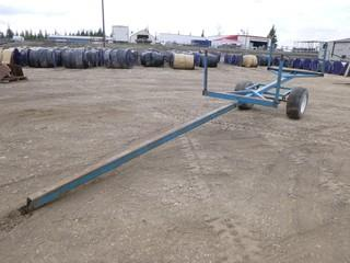 Approx 24Ft x 5Ft Custom Built Specialty Trailer w/ 29x12.00R15 Tires *Note: No VIN*