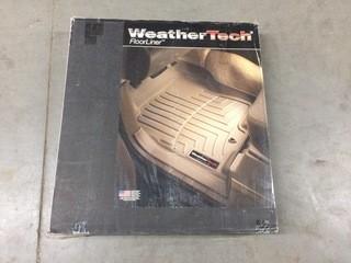 Weathertech Floor Liner Black Chevy Silverado/Gmc Sierra Extended Cab 99-07, P/N 440722.