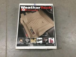 Weathertech Floor Liners 2015 Dodge Ram Promaster, P/N WT447981.