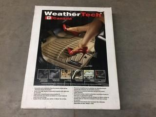 Weathertech Rear Floor Liners Digital Fit 07-13 Silverado, P/N 440660.