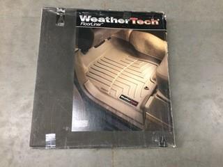 Weathertech Grey Rear Floor Liners  07-+ Chevy Silverado/Gmc Sierra, P/N 440669.