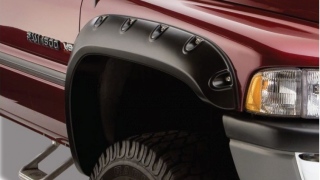 Bushwhacker Body Gear, Fender Flares 2002 Dodge Ram Pocket Style, P/N 50017-02.