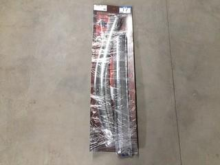 Chrome Window Visors, In-Channel, Toyota Tundra Crewmax Cab, Set of 4.