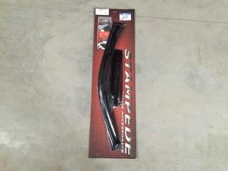 Stampede Truck Accessories Ford Side Wind Deflectors Set of (4), P/N 6160-2.
