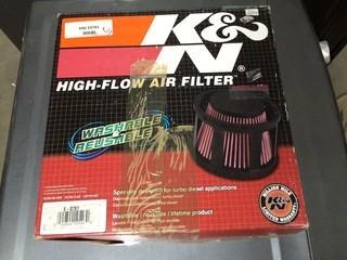 K&N High-Flow Air Filter, For Turbo Diesel, P/N KNE E0781.