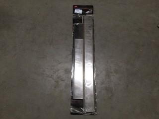 Body Side Molding Insert Accents, Chevy Silverado 07 2 Door, P/N 35585BI.
