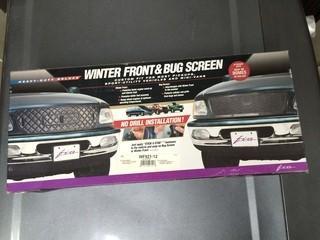 Winter Front & Bug Screen, P/N WF921-12.