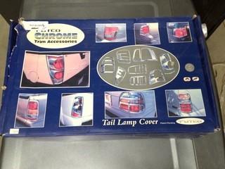 Putco Chrome Trim Accessories, Tail Lamp Cover Explorer 07+, P/N 401268.