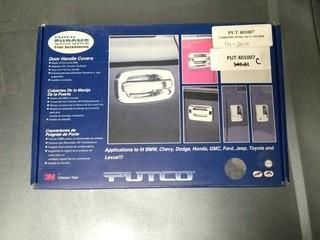 Putco Door Handle Cover Chrome Ford 07 F150 4 Door, P/N 401007.