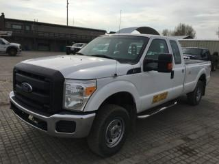 2012 Ford F250 SD XL 4x4 P/U c/w 6.2L V8, Auto, A/C, Showing 319,114 Kms. S/N 1FT7X2B69CEC27959.