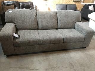 Blue Rowe Sofa.