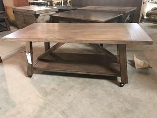 Coffee Table on Wheels / Picnic Table.