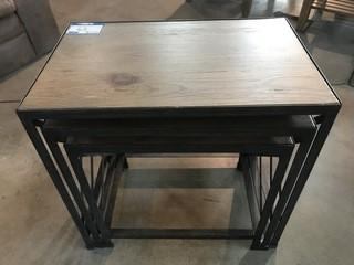 Small Stackable Tables 24 x 15 x 23.