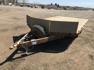 2005 RT Trailers 14' T/A Ball Hitch Snowmobile Trailer c/w ST225/75R15 Tires. S/N 2R9SS42A15W682431.